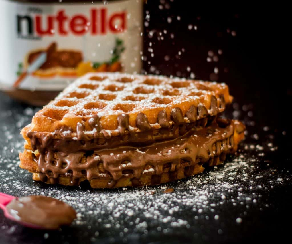 waffles - most loved famous foods